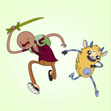 Prompt: Adventure Time