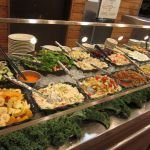 Salads and congeals at Highland Park Cafeteria