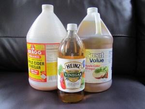 Cider Vinegar jugs