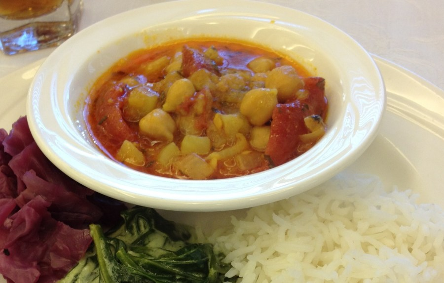 Chickpea Curry as served at Querencia at Barton Creek