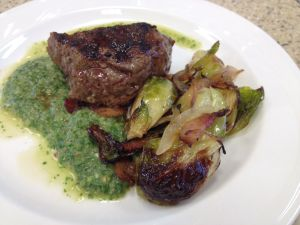 Steak Chimichurri Brussels