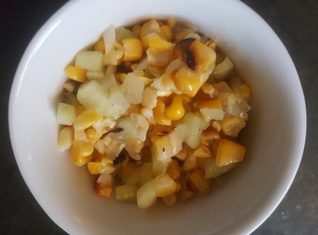 Corn Cucumber Salsa