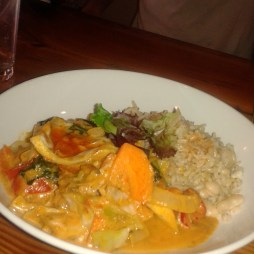 West African Inspired Stir Fry with Coconut Rice