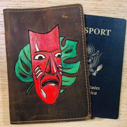 BurnWizard Passport Cover