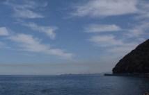 Sea, sky and smear