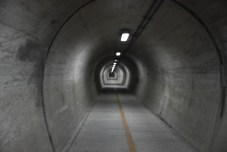 Tunnel especially for bicycles: good move, Ehime