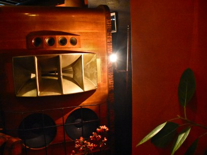 Magnificent custom speakers at Saudade