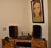 Throat Records speaker set (plus another Nara)