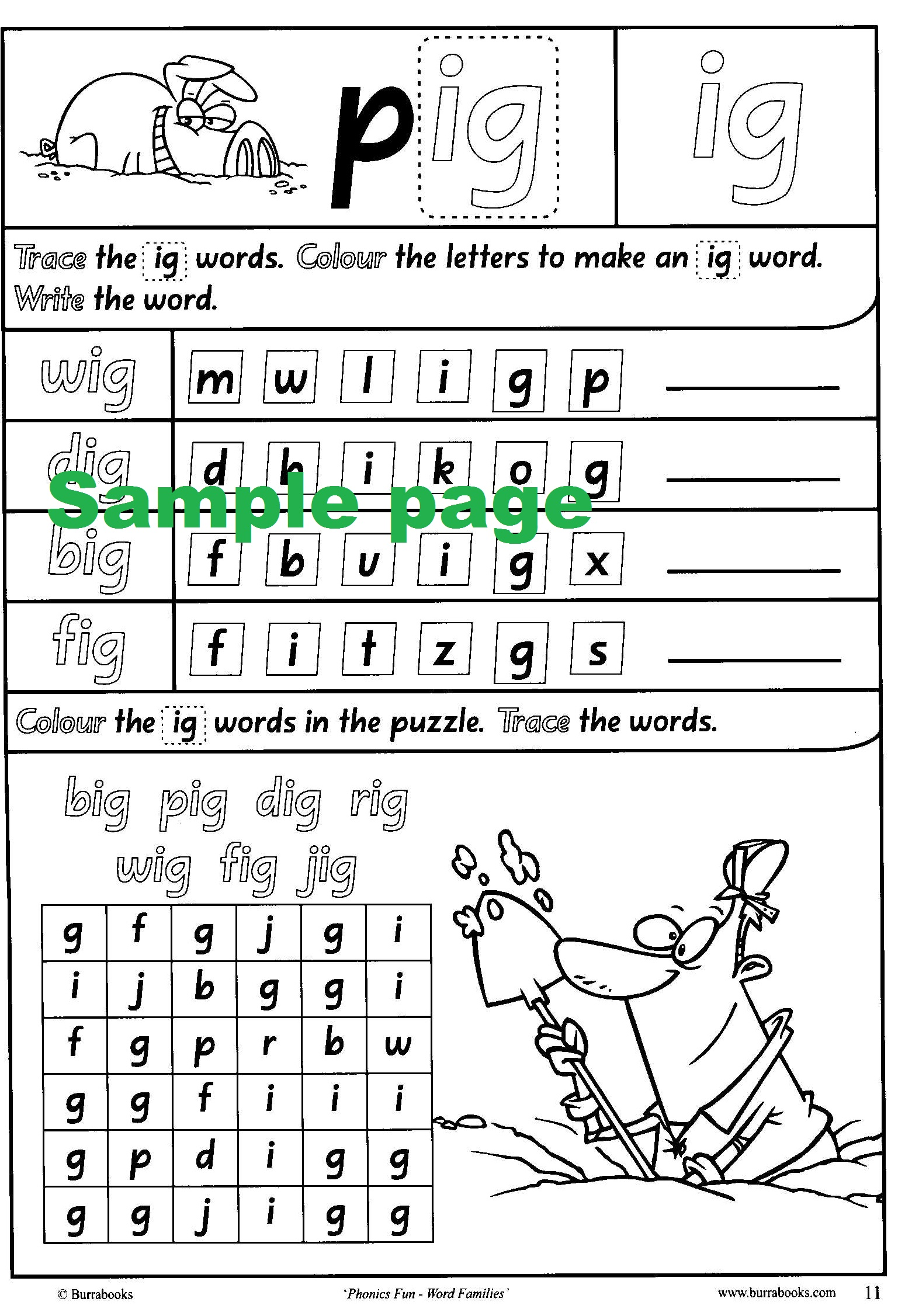 Phonics Fun Word Families