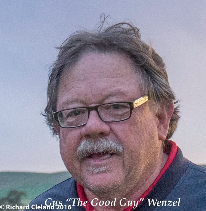 """Russell 'Gus The Good Guy"""" Wenzel"""