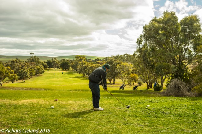 First Hole, Burra Golf Club