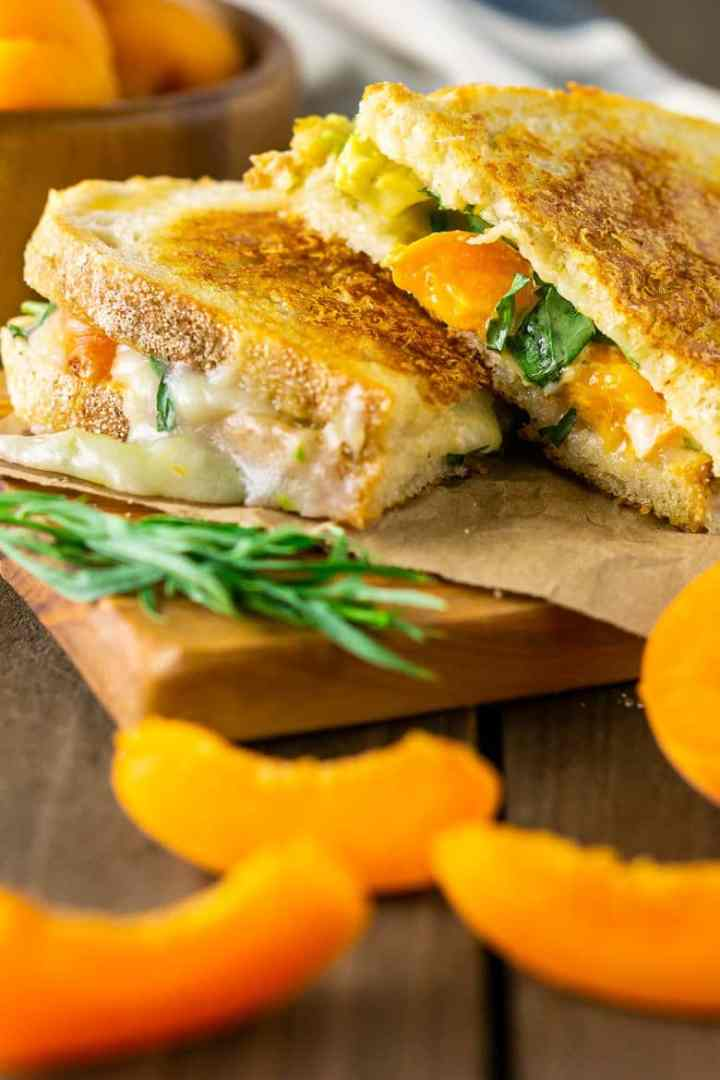 Brie Grilled Cheese