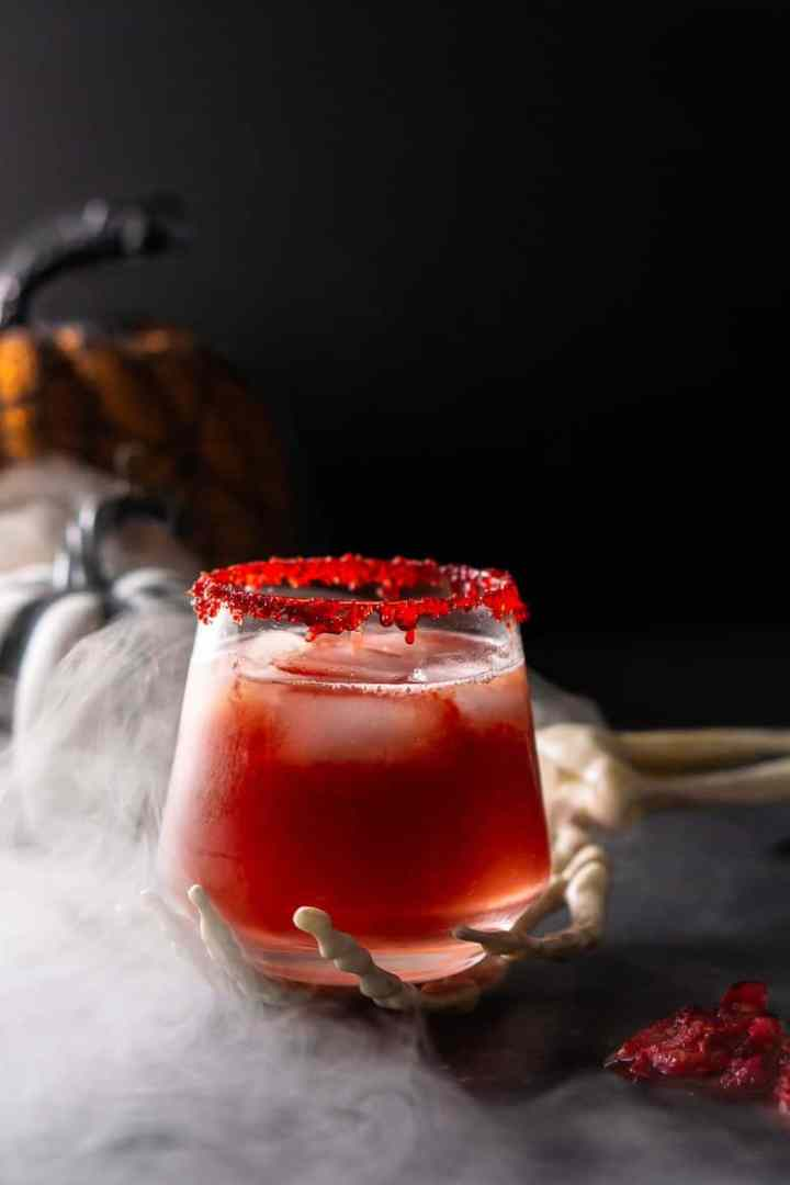 Zombie Brains Halloween Cocktail