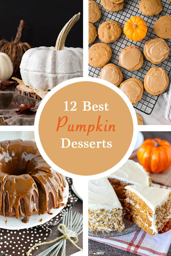 best pumpkin desserts