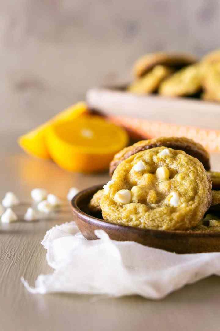 orange-ginger-maple cookies