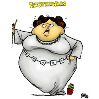 Fat Princess Leia