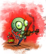 """""""PERFECTION ZOMBIE"""": For an article in the February 2014 issue of 10 Magazine"""