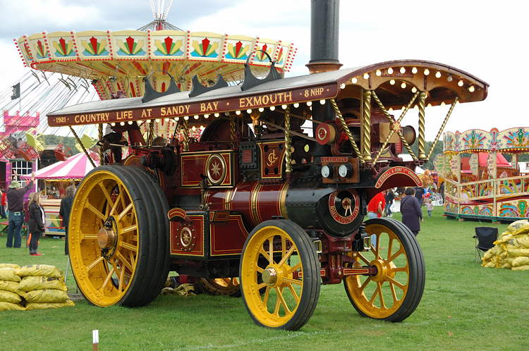 3884 GLADIATOR THE BURRELL SPECIAL SCENIC SHOWMANS ROAD