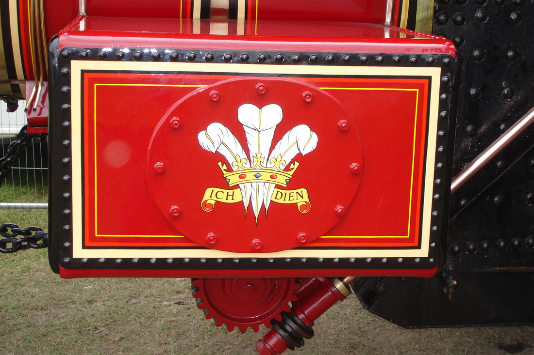 DETAIL THE BURRELL SPECIAL SCENIC SHOWMANS ROAD LOCOMOTIVE