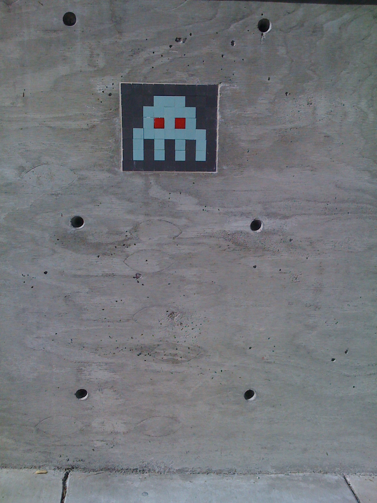 space invaders tiles