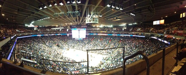 Panorama :: Warriors vs. Clippers game.