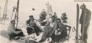 Soldan ikinci Tayyar Akkeskin, üçüncü Saim Altıok