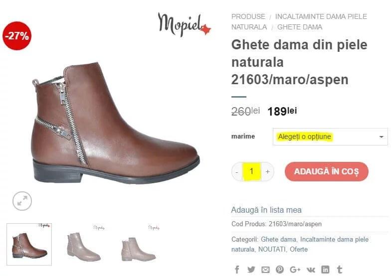 Filtre, atribute produse și căutare avansată pentru magazinele online bursasite romania filtru produs