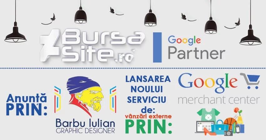 lansarea noului serviciu google merchant center