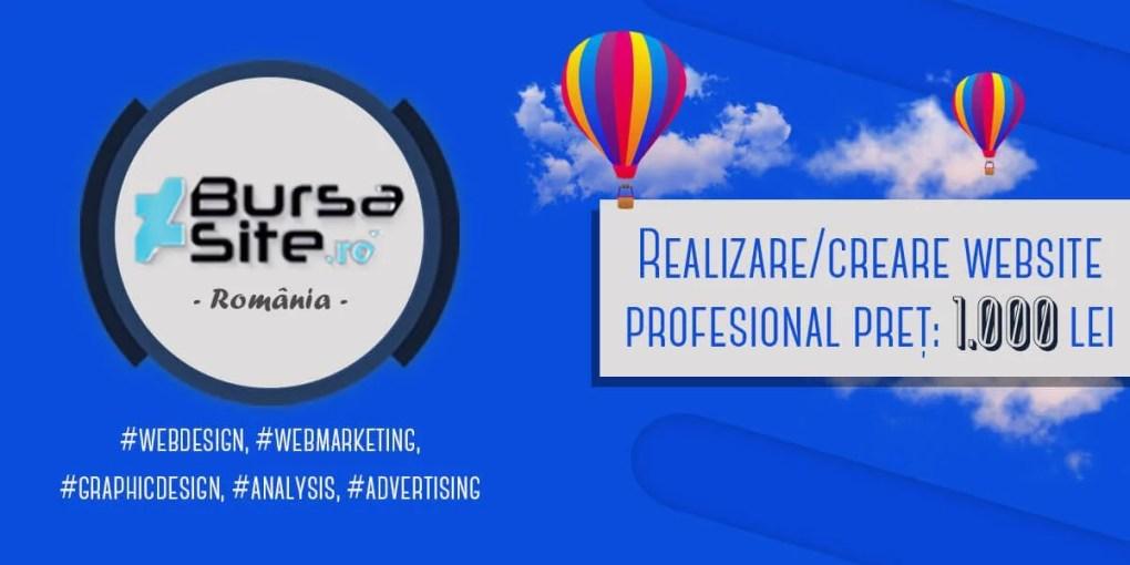 realizare/creare website profesional Realizare/creare website profesional realizare creare website profesional