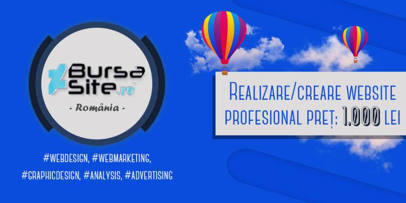 realizare/creare website profesional Realizare/creare website profesional realizare creare website profesional