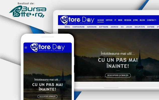 Rrealizare-platformă-website-StoreDay-Tutoriale-IT-România
