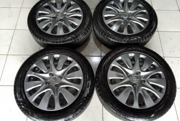 Velg second oem new baleno ring 16+ban