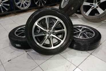 Velg Mobil Original STD CALYA RING 14 PLUS BAN BS 175 65 R14