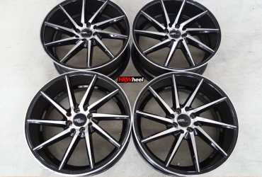 Velg Bekas Rep Vossen CVT Ring 18×8 ET:45 H:8×100+114,3 Black Polish