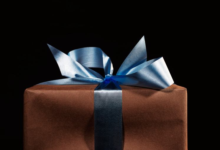 Gift Wrapped With Bow