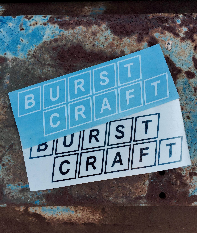Burst Craft Olio Burst 7 Vinyl Decal
