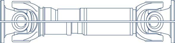 Cardan Shaft. 550.50-.55 Model.