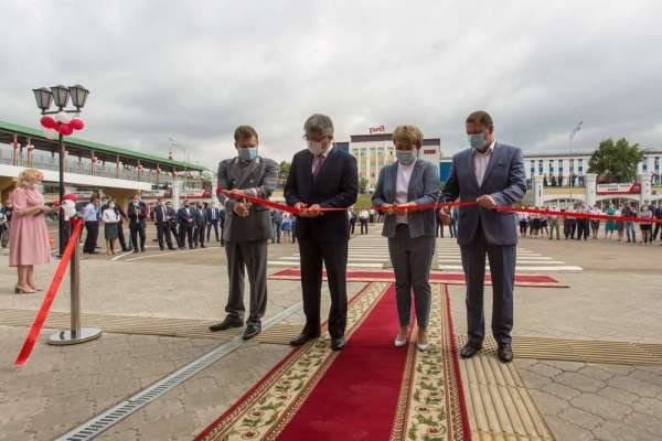 В Улан-Удэ открылся комфортный для людей вокзальный комплекс