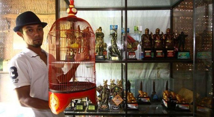 Yoyok Adi Nugroho pemilik Lovebird Putri Dewi (radarmalang.co.id)