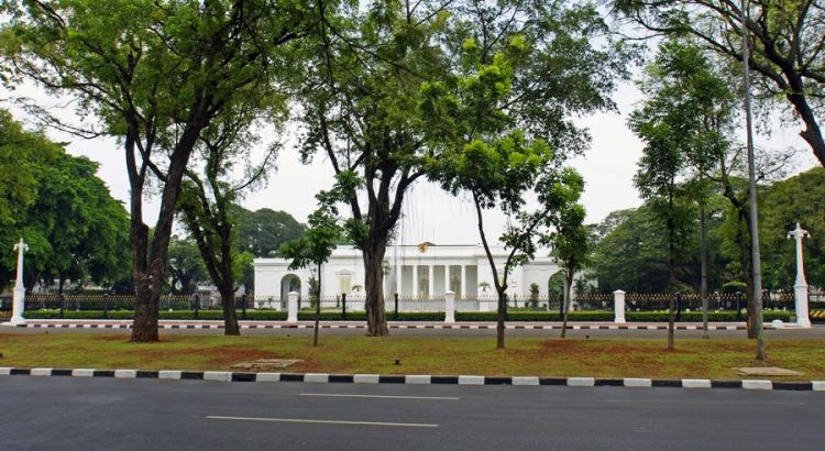 Istana Kepresidenan Jakarta (mapio.net)