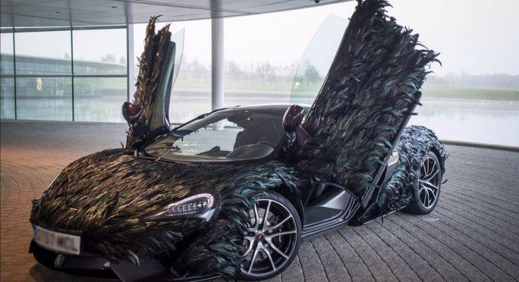 Mobil berlapis bulu burung (paultan.org)