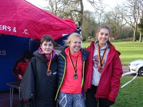 Bronze for Bury Women in Greater Manchester Cross Country Champs