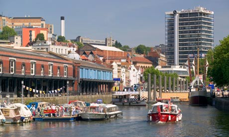 Boats Bristol Waterfront