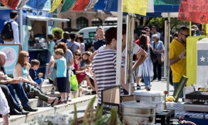 Street Food Harbourside Market Bristol