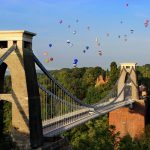 Clifton Suspension Bridge Bristol Balloon Fiesta Bury Hill Farm