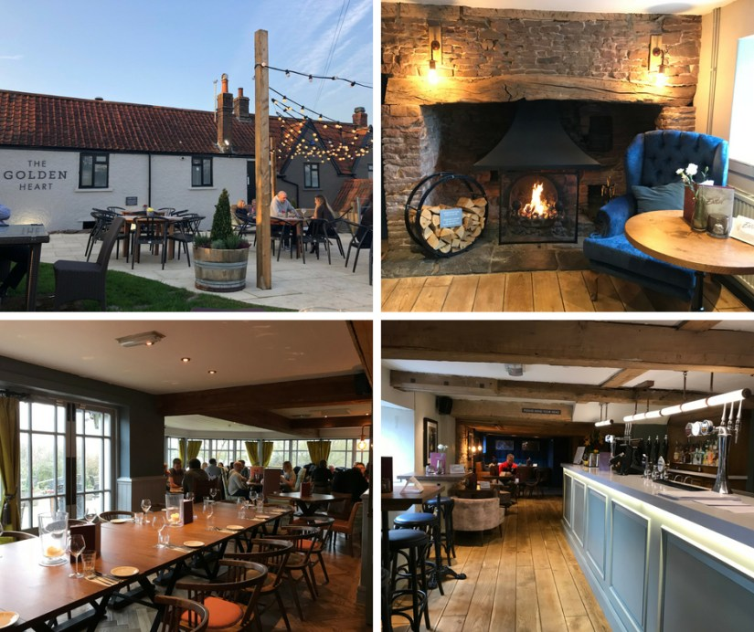 The Golden Heart Pub and Restaurant Winterbourne Bristol