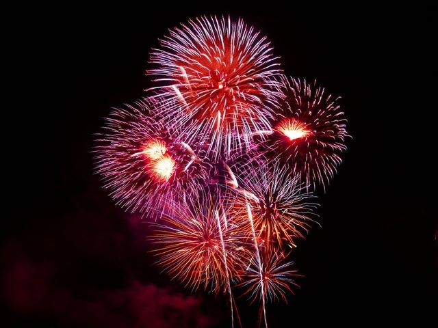 Downend Fireworks 2018 Bristol Bury Hill Farm