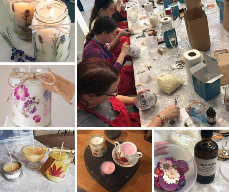 Candle Making Classes Bristol