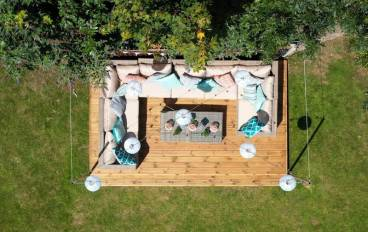 Decking area Self Catering Holiday Let Bristol