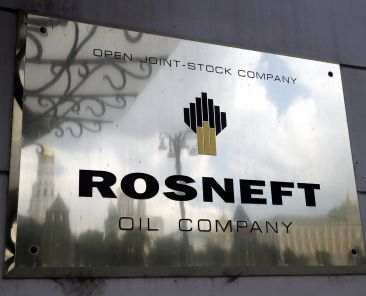 Rosněfť ropa